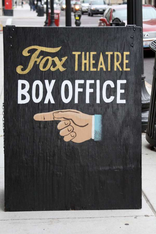 The Fox Theatre Ticket Office has no service charges for most shows. During events, the Ticket Office opens two hours prior to show time. Doors to the Fox and Will Call open one hour prior to show time.