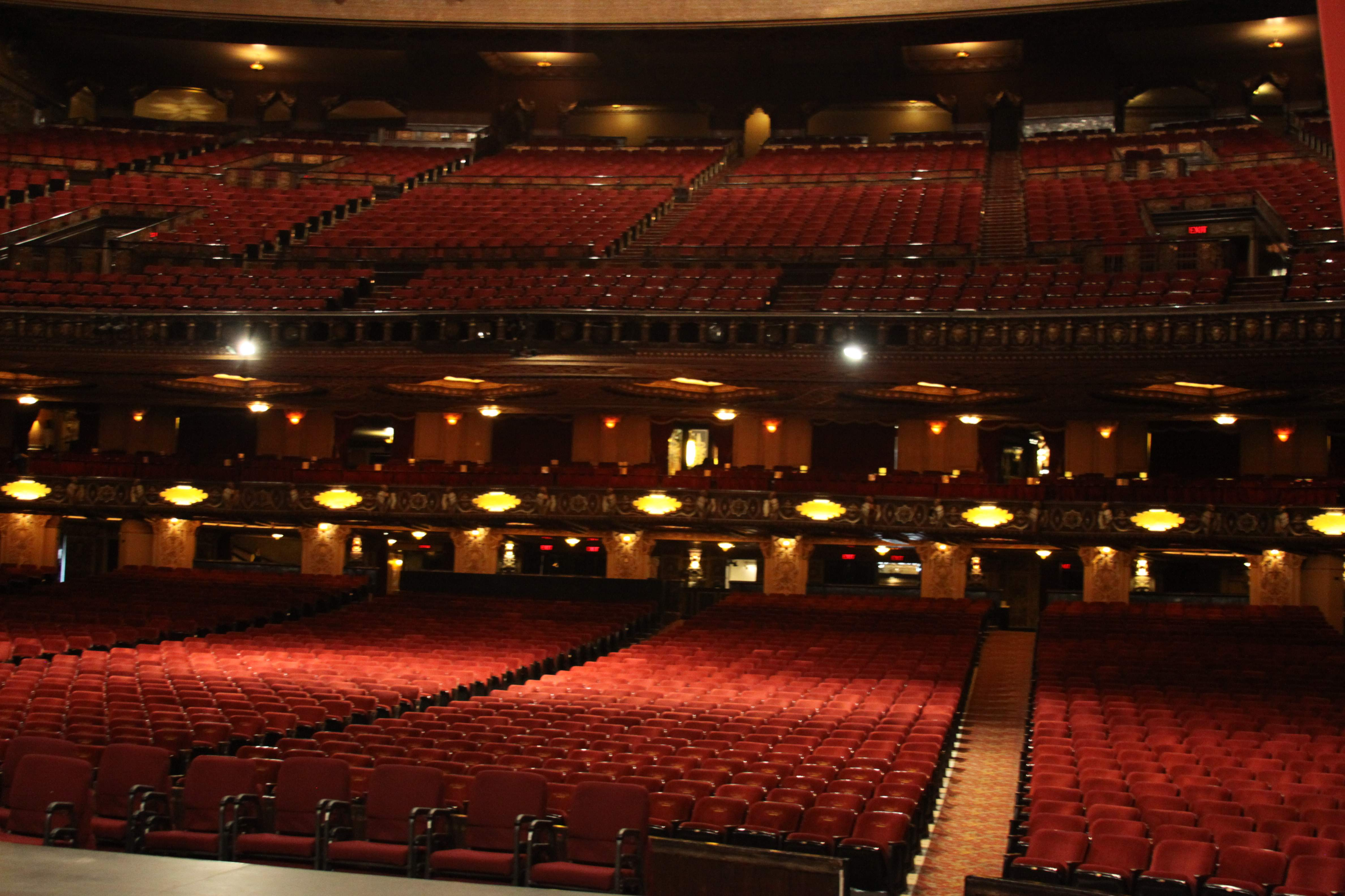 When Visiting The Fox Theater Try Not To Get Squashed By