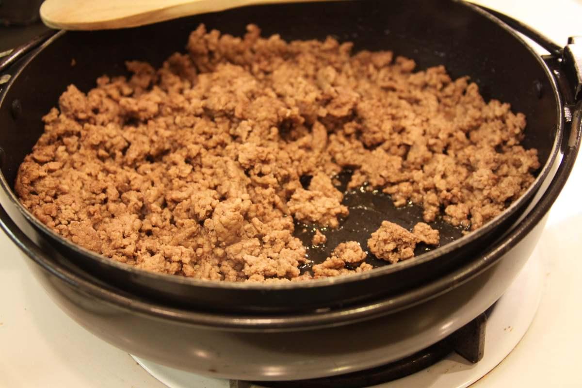 cooked ground beef | Spoonlighting