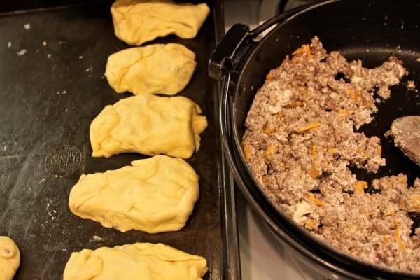 ground beef in crescent rolls
