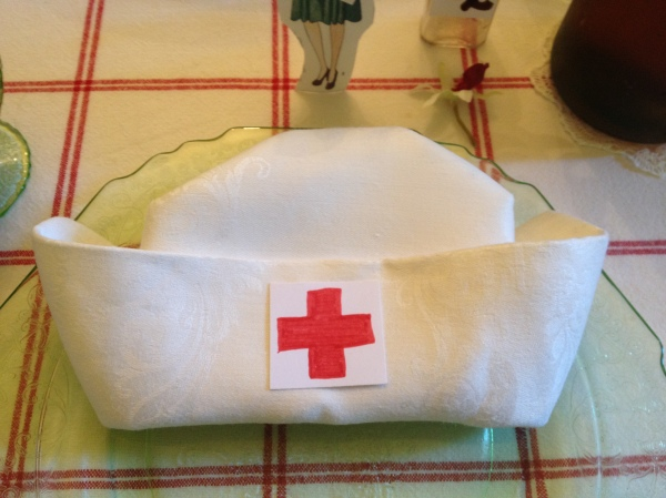 nursing hat napkin