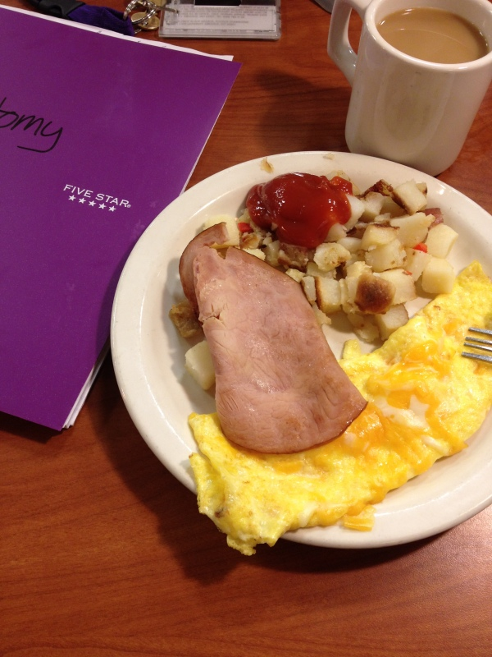breakfast and anatomy